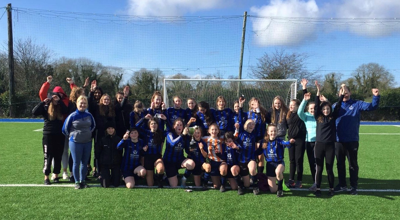 U15 Girls Soccer Munster Champions